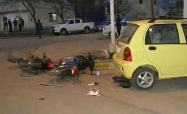 COLÓN: ACCIDENTE DE TRÁNSITO EN LA CIUDAD CON HERIDOS: