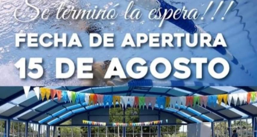VILLA ELISA 15 DE AGOSTO RE APERTURA DEL NATATORIO