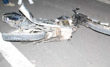 ACCIDENTE Y MUERTE AUTOVIA RUTA 14.