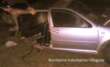 VILLAGUAY: FATAL ACCIDENTE EN RUTA 18: