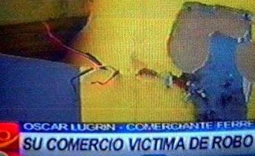 VILLA ELISA ROBO EN FERRETERIA.