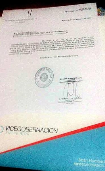 VILLA ELISA: PROYECTO DE HOGAR PARA DISCAPACITADOS ADULTOS DECLARADO DE INTERÉS PARA LA CÁMARA DE SENADORES DE ENTRE RIOS: