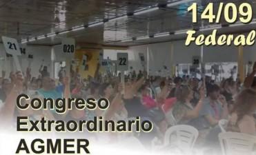 AGMER CONVOCÓ A UN NUEVO CONGRESO EXTRAORDINARIO: