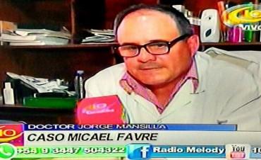 CASO MICAEL FAVRE -HABLO EL DOCTOR MANSILLA.