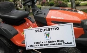 RECUPERARON EL TRACTOR DE SAN JORGE.