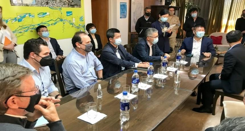 Empresarios chinos interesados en exportar desde el Puerto de Concepción del Uruguay