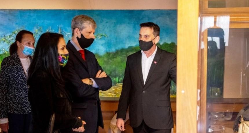 El Embajador de Suiza en la Argentina visitó el Museo Histórico Regional de la Colonia San José