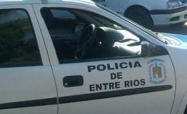 INCIDENTES EN POLICIA DE PARANA.