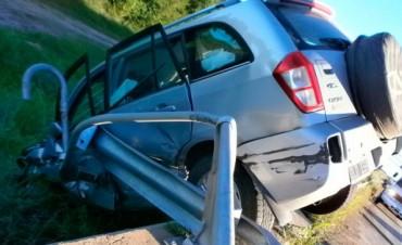 ACCIDENTES EN AUTOVIA GERVASIO ARTIGAS.