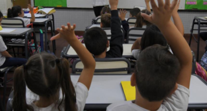 Las clases finalizan el 13 de diciembre en Entre Ríos.