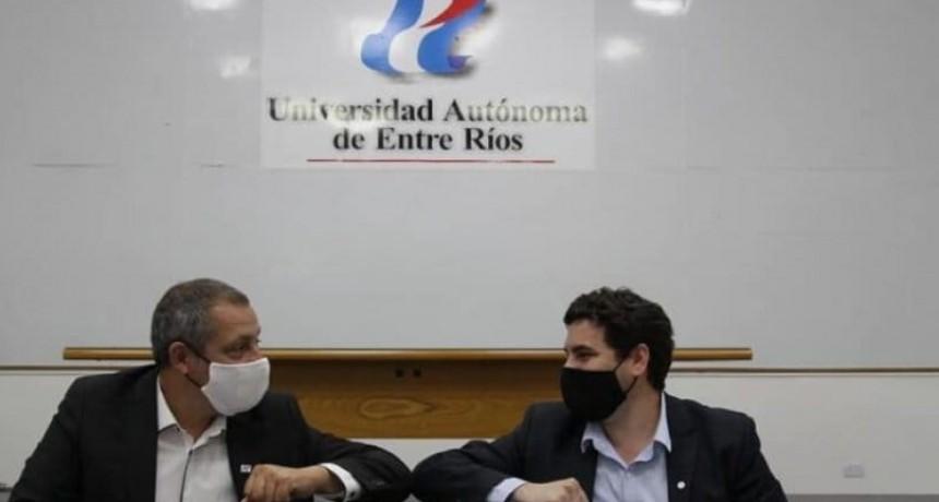 SAN JOSÉ FIRMAN CONVENIO DE COOPERACIÓN CON LA UNIVERSIDAD AUTÓNOMA DE ENTRE RÍOS.