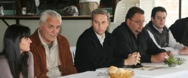 Canali recibió a la Cámara de Turismo de Entre Ríos